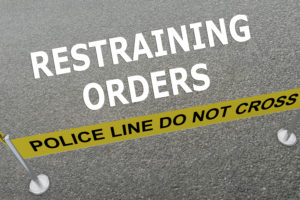 temporary restraining order lawyer needed Sussex county nj